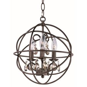 Orbit - Three Light Chandelier