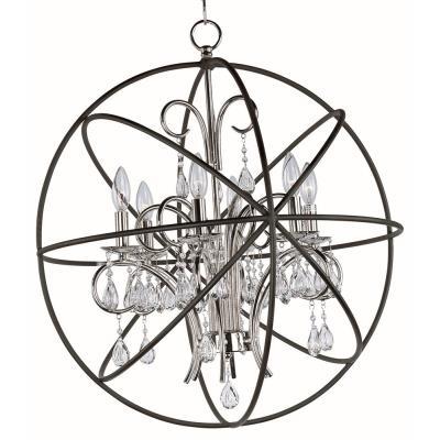 Maxim Lighting 25144 Orbit - Six Light Chandelier