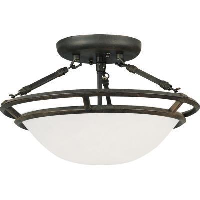 Maxim Lighting 2670 Stratus - Three Light Semi-Flush Mount