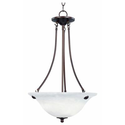 Maxim Lighting 2682 Malaga - Three Light Invert Bowl Pendant