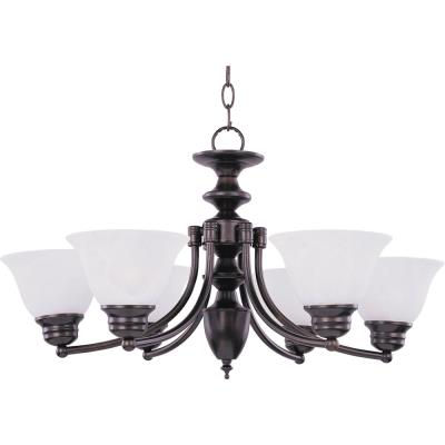 Maxim Lighting 2684 Malaga - Six Light Chandelier