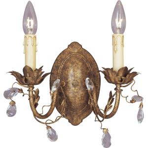 Elegante - Two Light Wall Sconce