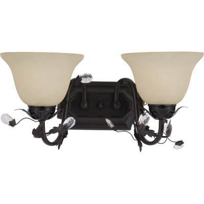 Maxim Lighting 2864 Elegante - Two Light Bath Vanity