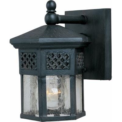 Maxim Lighting 30122CDCF Scottsdale - One Light Outdoor Wall Mount