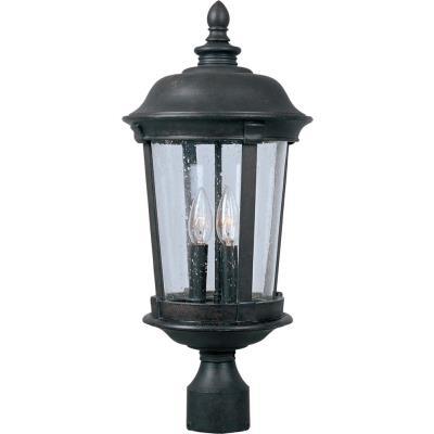 Maxim Lighting 3021 Dover DC - Three Light Outdoor Pole/Post Mount