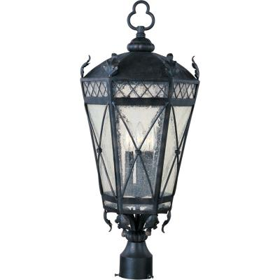 Maxim Lighting 30451 Canterbury - Three Light Outdoor Pole/Post Mount