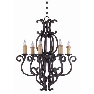 Maxim Lighting 31005 Richmond - Six Light Chandelier