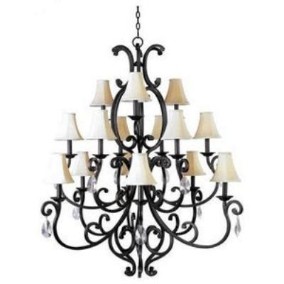 Maxim Lighting 31007CU/CRY085 Richmond - Fifteen Light 3-Tier Chandelier