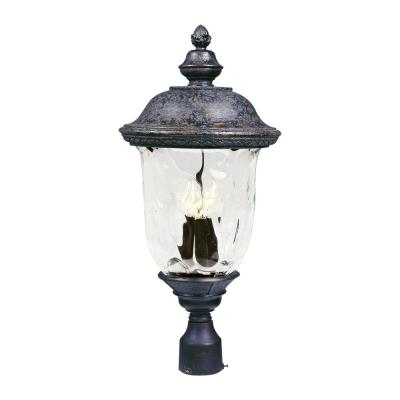 Maxim Lighting 3420 Carriage House DC - Three Light Outdoor Pole/Post Mount