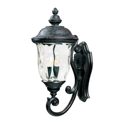 Maxim Lighting 3424 Carriage House DC - Three Light Outdoor Wall Mount