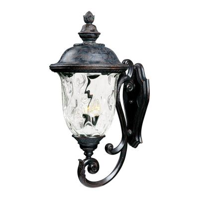 Maxim Lighting 3425 Carriage House DC - Three Light Outdoor Wall Mount