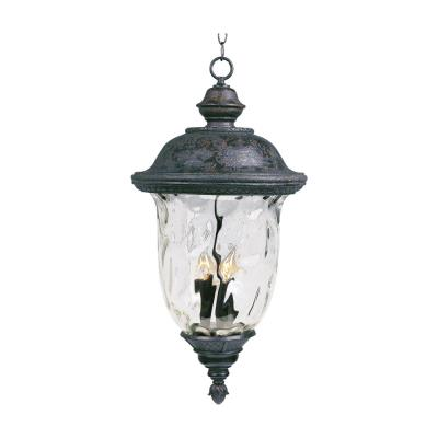 Maxim Lighting 3427 Carriage House DC - Three Light Outdoor Hanging Lantern