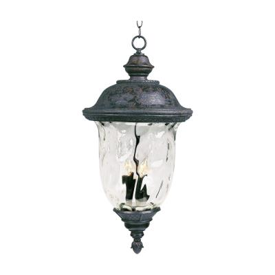 Maxim Lighting 3428 Carriage House DC - Three Light Outdoor Hanging Lantern