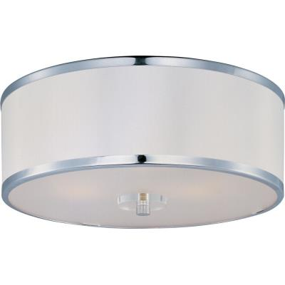 Maxim Lighting 39821BCWTPC Metro - Three Light Flush Mount