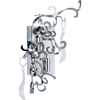 Maxim Lighting 39849PN/CRY153 Tempest - Two Light Wall Sconce