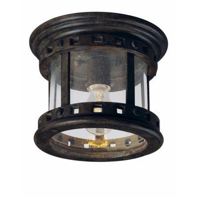 Maxim Lighting 40030CDSE Santa Barbara VX - One Light Outdoor Flush Mount