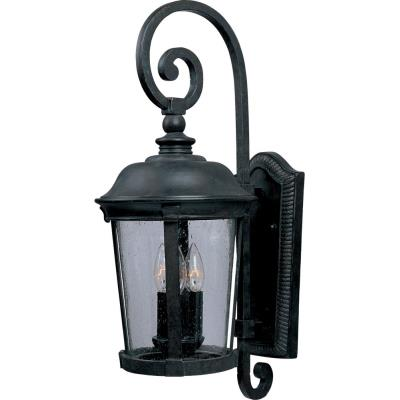 Maxim Lighting 40094CDBZ Dover VX - Three Light Outdoor Wall Mount