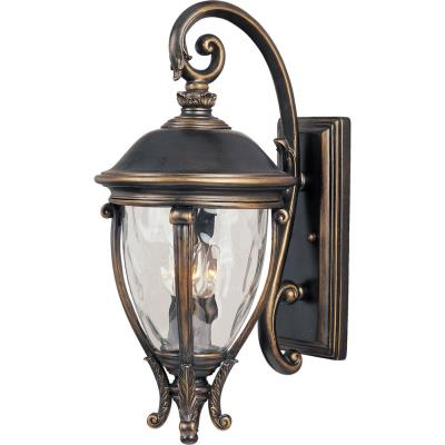 Maxim Lighting 41425WGGO Camden VX - Three Light Outdoor Wall Mount