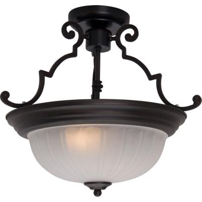 Maxim Lighting 5833 Essentials - Two Light Semi-Flush Mount
