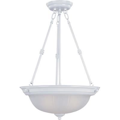 Maxim Lighting 5835 Essentials - Three Light Invert Bowl Pendant