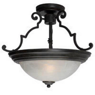 Maxim Lighting 5843 2 Light Semi Flush