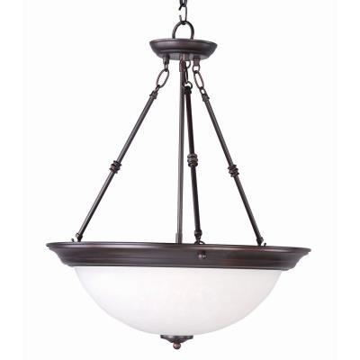 Maxim Lighting 5846 Essentials - Three Light Invert Bowl Pendant