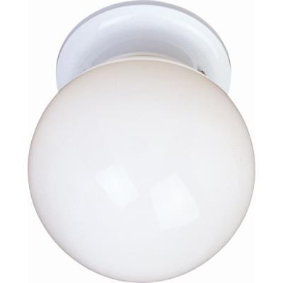 Maxim Lighting 5889 Essentials - One Light Flush Mount
