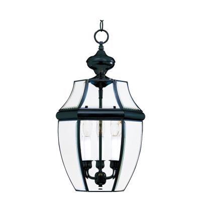 Maxim Lighting 6095 South Park - Three Light Outdoor Hanging Lantern