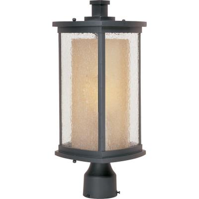 Maxim Lighting 85650CDWSBZ Bungalow EE - One Light Outdoor Post Lantern
