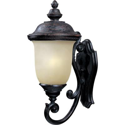 Maxim Lighting 86524MOOB Carriage House ES - One Light Outdoor Wall Mount