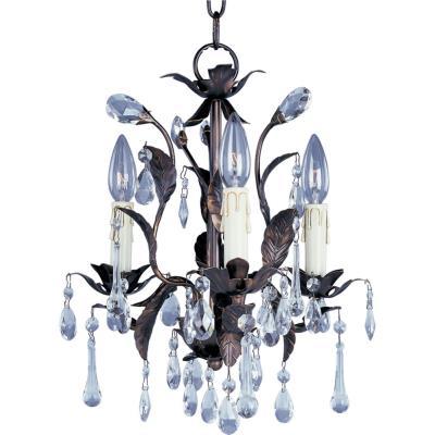 Maxim Lighting 8832OI Grove - Three Light Chandelier