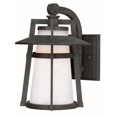 "Maxim Lighting 88536SWAE Calistoga - 15.5"" 8W 1 LED Outdoor Wall Mount"