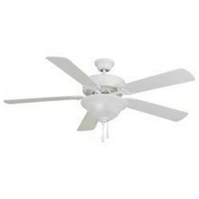 "Maxim Lighting 89905MW Basic-Max - 52"" Ceiling Fan with Light Kit"