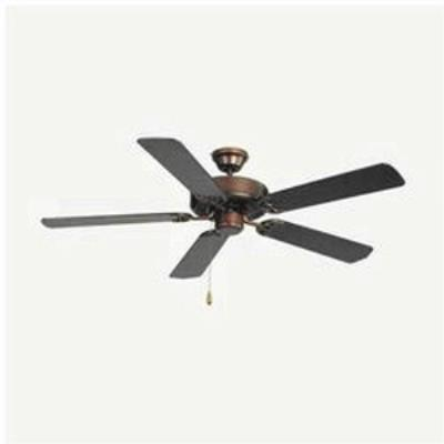 "Maxim Lighting 89905OI Basic-Max - 52"" Ceiling Fan with Light Kit"