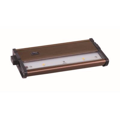 "Maxim Lighting 89912MB CounterMax MX-L120DC - 7"" 4.88W 2 LED UnderCabinet"