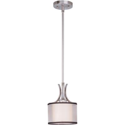 Maxim Lighting 93031SWSN Orion - One Light Mini Pendant