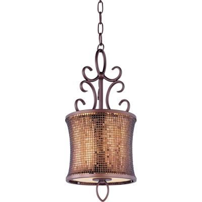Maxim Lighting 94160SBUB Alexander - One Light Mini-Pendant