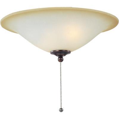 Maxim Lighting FKT2012WSOI Basic-Max - Three Light Ceiling Fan Light Kit with Wattage Limiter