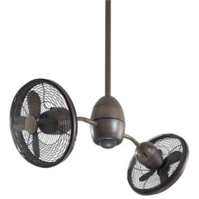 """Minka Aire Fans F302-RRB Gyrate - 10"""" Ceiling Fan"""
