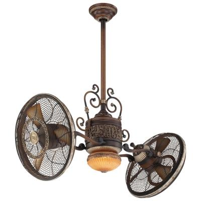 "Minka Aire Fans F502 Gyro - 42"" Twin Turbo Fan with Light Kit"