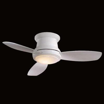"Minka Aire Fans F519-WH-O Concept II Flush 52"" - Ceiling Fan"