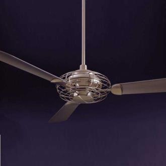 Minka Aire Fans F601-BS/BN Acero