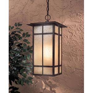 Delancy - One Light Outdoor Chain Hung Lantern