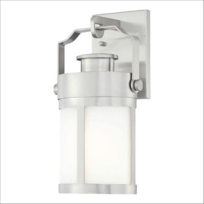 "Minka Great Outdoors 72191-144 Vista Delmar - 13"" One Light Outdoor Wall Lamp"