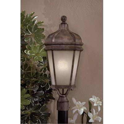 Minka Great Outdoors 8696-1-61-PL One Light Post Mount with Photocell