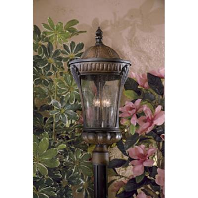Minka Great Outdoors 9145-407 Kent Place - Four Light Outdoor Post Lantern