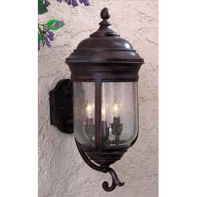 """Minka Great Outdoors 8815-57 Amherst - 22"""" Three Light Outdoor Wall Mount"""