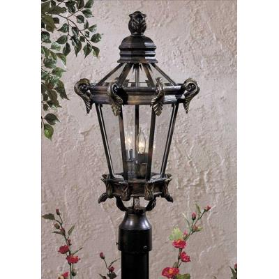 Minka Great Outdoors 8935-95 Stratford Hall - Two Light Outdoor Post Mount