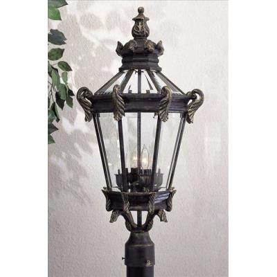Minka Great Outdoors 8936-95 Stratford Hall - Four Light Outdoor Post Mount