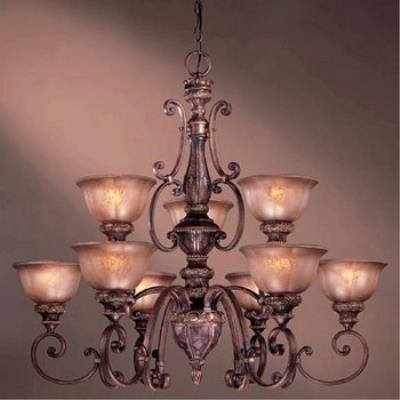 Minka Lavery 1358-177 Illuminati 9 Light Chandelier